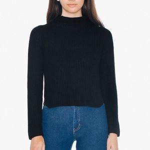 American Apparel Black Knit Sweater
